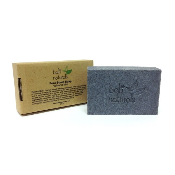 Bali Naturals by Neda Behnam Volcanic Mint Foot Scrub Soaps (Set of 2)