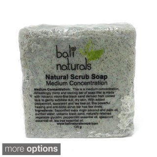 Bali Naturals by Neda Behnam Natural Volcanic Mint Body Scrub Soap