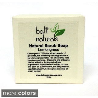 Bali Naturals by Neda Behnam Natural Body and Face Scrub 4.4-ounce Soap