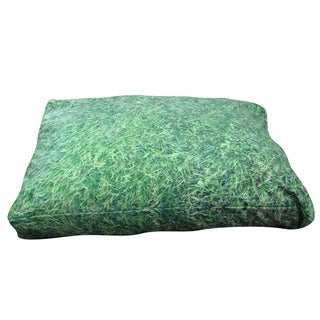 Dogzzzz Grass Green Extra Large Rectangular Dog Bed