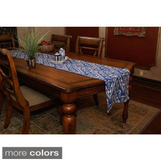 Ikat Chevron Table Runner (India)
