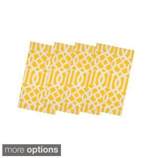 Yellow Trellis Table Linens (India)