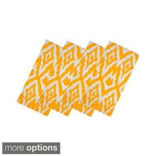 Yellow Ikat Table Linens (India)