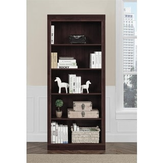 Monterrey 5-shelf Cherry Bookcase
