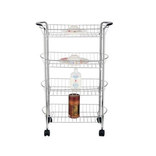 better chef 4 tier metal storage cart 16595514