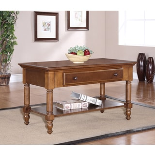 Single-drawer Chestnut Coffee Table