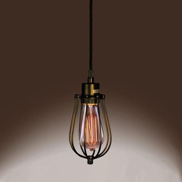 Priscilla Single-light Edison Pendant With Bulb