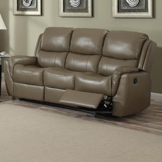 Aldo Bonded Leather Reclining Sofa