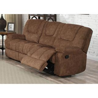 Joseph Smooth Pecan Reclining Sofa