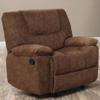 Joseph Smooth Pecan Glider Reclining Chair