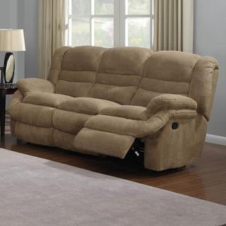 Ted Coffee Soft-upholstered Reclining Sofa