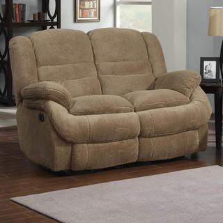 Ted Coffee Soft-upholstered Reclining Loveseat