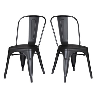 Norman Vintage Steel Chairs (Set of 2)