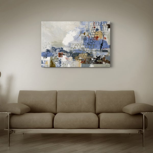 Breaking Down the Walls' Canvas Print Art