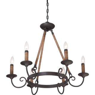 Bandelier 6-light Imperial Bronze Chandelier