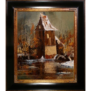 Justyna Kopania 'Old mill' Framed Print Art