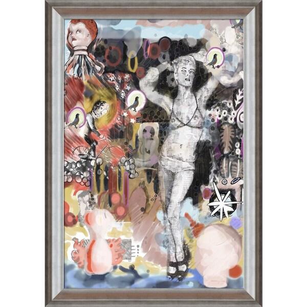 Jeffery Pierson 'NUMBER 33' Framed Print Art