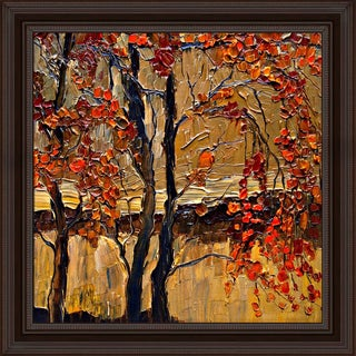 Justyna Kopania 'Autumn (tree)' Framed Print Art