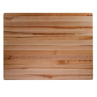 1.5-inch Rectangular Kobi Blocks Premium Maple Wood Butcher Block Cutting Board