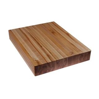2-inch Rectangular Kobi Blocks Premium Maple Edge Grain Wood Butcher Block Cutting Board