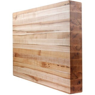 2-inch Square Kobi Blocks Premium Maple Edge Grain Wood Butcher Block Cutting Board