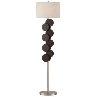 Nova Lighting Wood Dots 1-light Floor Lamp