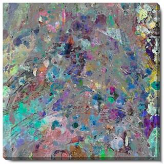Studio Works Modern 'Spill' Fine Art Gallery Wrapped Canvas