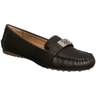 Coach Womens 'Farrera' Brown Loafer Flats