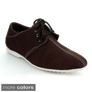 J's Awake Men's 'Daniel-31' Three-eyelet Lace-up Oxford Shoes