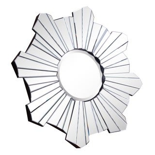 Somette Modern Clear Starburst Mirror