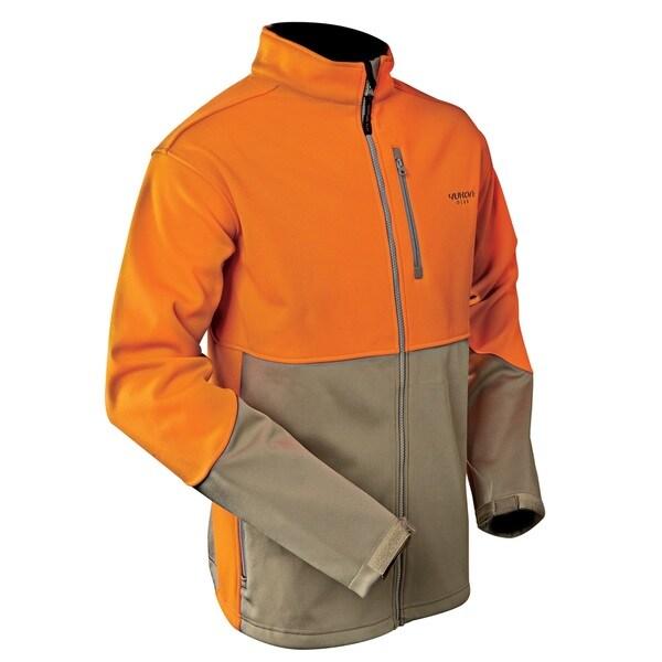 Yukon Gear Mossy Oak Blaze/ Khaki Windproof Soft Shell Jacket