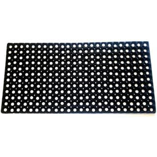 Hollow Rubber Doormat