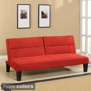 Microfiber Fabric Klik-Klak Sleeper Sofa