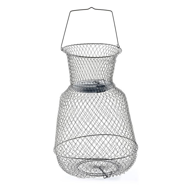 South Bend 15x21-inch Floating Wire Fish Basket