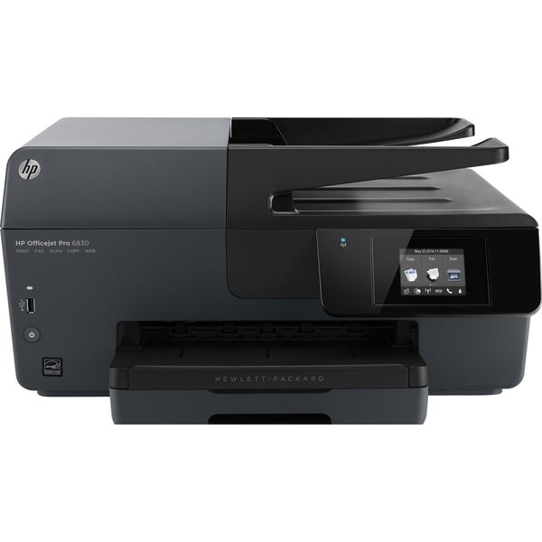 HP Officejet Pro 6830 Inkjet Multifunction Printer - Color - Plain Pa