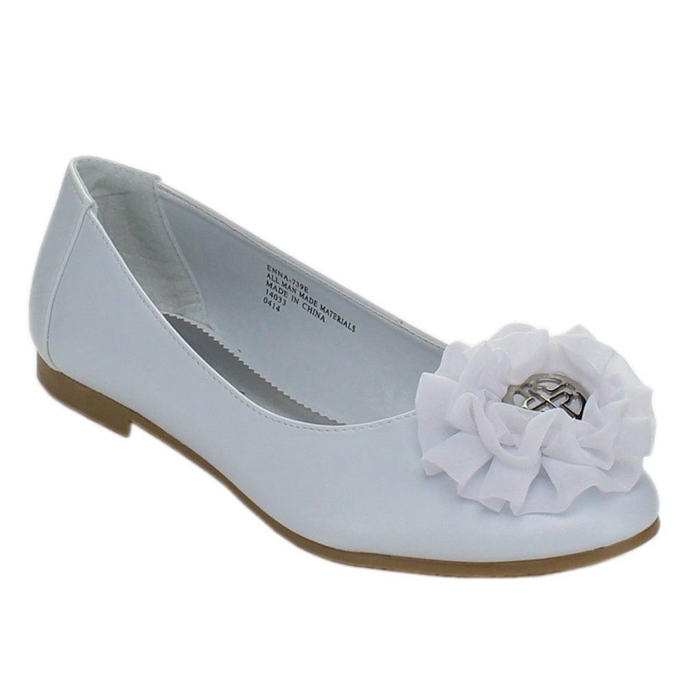 Overstock.com Little Angel Girls 'Enna-739E' Ballet Loafers