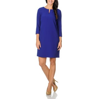 Tahari ASL Women's Cobalt Chemise Dress