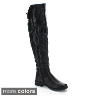 Forever Women's 'Aby-91' Over-the-knee Riding Boots
