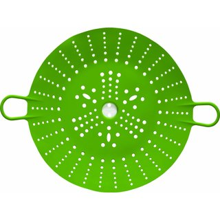 Chef'n 102-124-011 Sleekstor 11-Inch Large VeggiSteam Silicone Steamer, Arugula