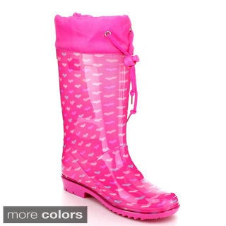 Jelly Beans Girls 'Lana' Knee-high Rubber Rain Boots
