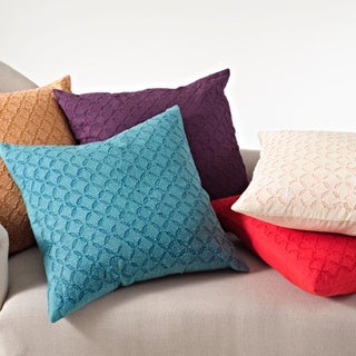 Applique Sheeting Decorative Throw Pillow