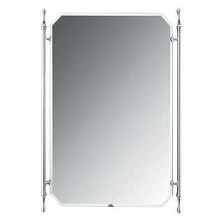 Elite Small Polished Chrome Banner Mirror