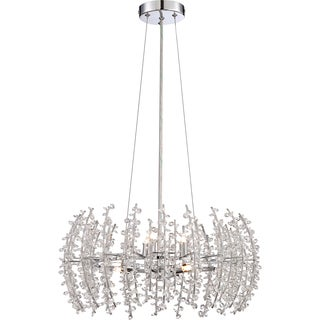 Valla 6-light Polished Chrome Pendant