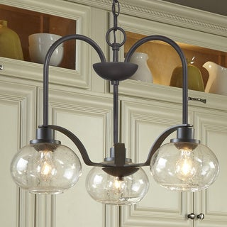 Trilogy 3-light Old Bronze Dinette Chandelier