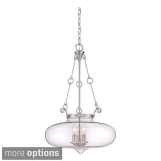 Alden Glass Bowl 3-light Pendant