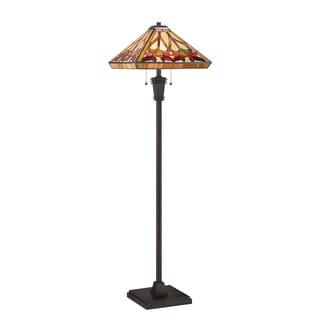 Ross 2-light Vintage Bronze Floor Lamp