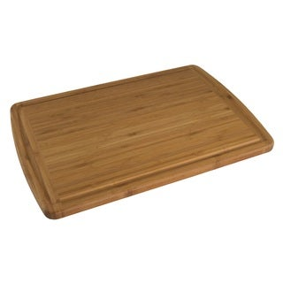 Totally Bamboo 20-1330VG Malibu Groove Cutting and Serving Board