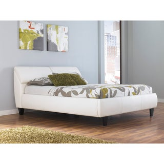 Signature Design by Ashley Jansey White Upholstered Storage Bed