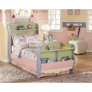 Signature Design by Ashley Doll House Multicolored Sleigh Bed