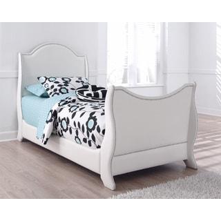Signature Design by Ashley Mivara Upholstered Sleigh Bed